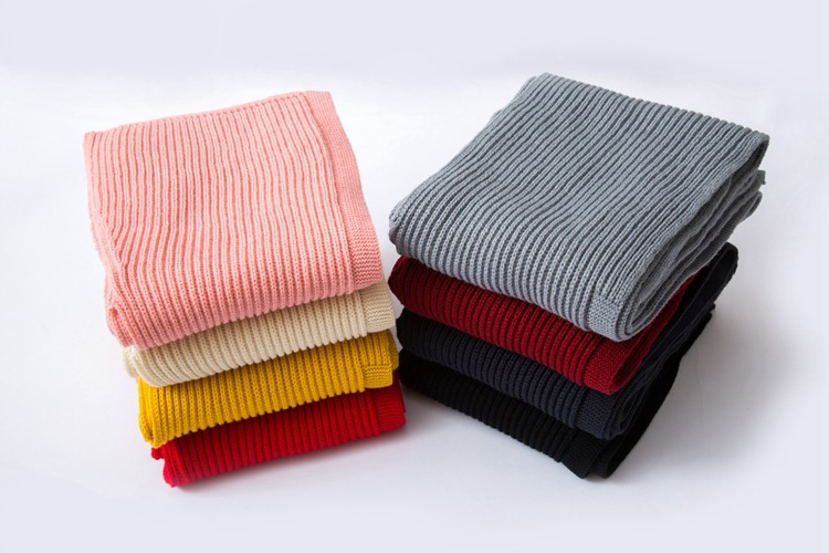 Men Women Multifunctional Scarve Warm Knit Hat Autumn Winter Korean Shawl Scarf Hat