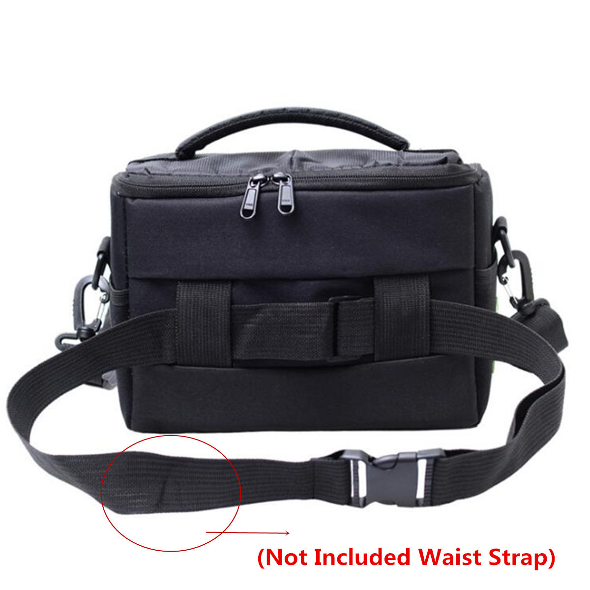 Outdoor Travel SLR Camera Storage Bag Shoulder Messenger Bag Crossbody Bag For Nikon D3200 D3100