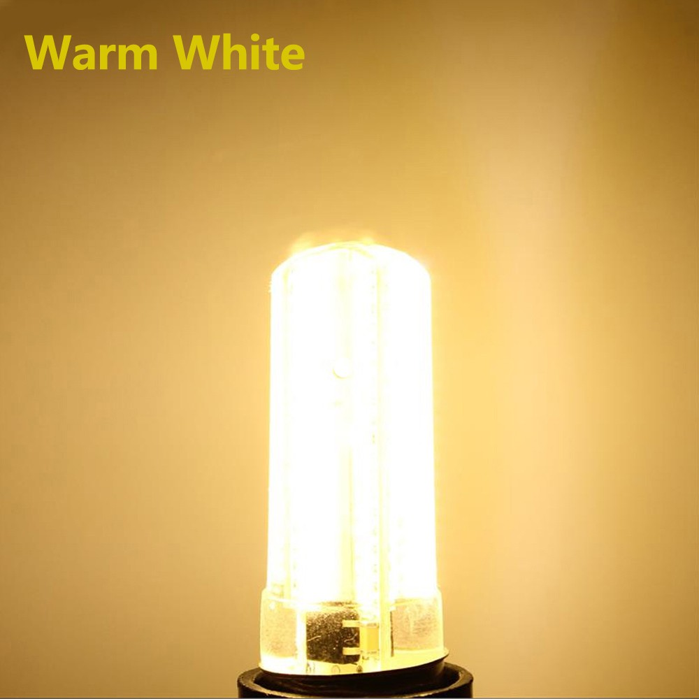 G4 6W Warm White/Pure White 5730 SMD 80LED Silicone Dimmable LED Bulb AC110V/220V