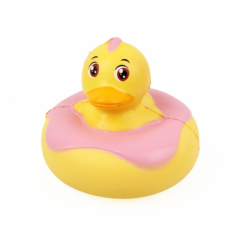 Sanqi Elan Frog Duck Squishy 10*10*9CM Licensed Slow Rising With Packaging Collection Gift Soft Toy