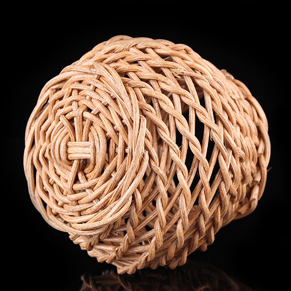 Mini Vine Rotin Rattan Vase Zakkz Flower Bottle Ornaments Flower Arrangement Home Decor