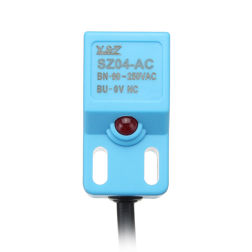 SZ04-DN / SZ04-AC Small Square Inductance Approach Switch Metal Sensor