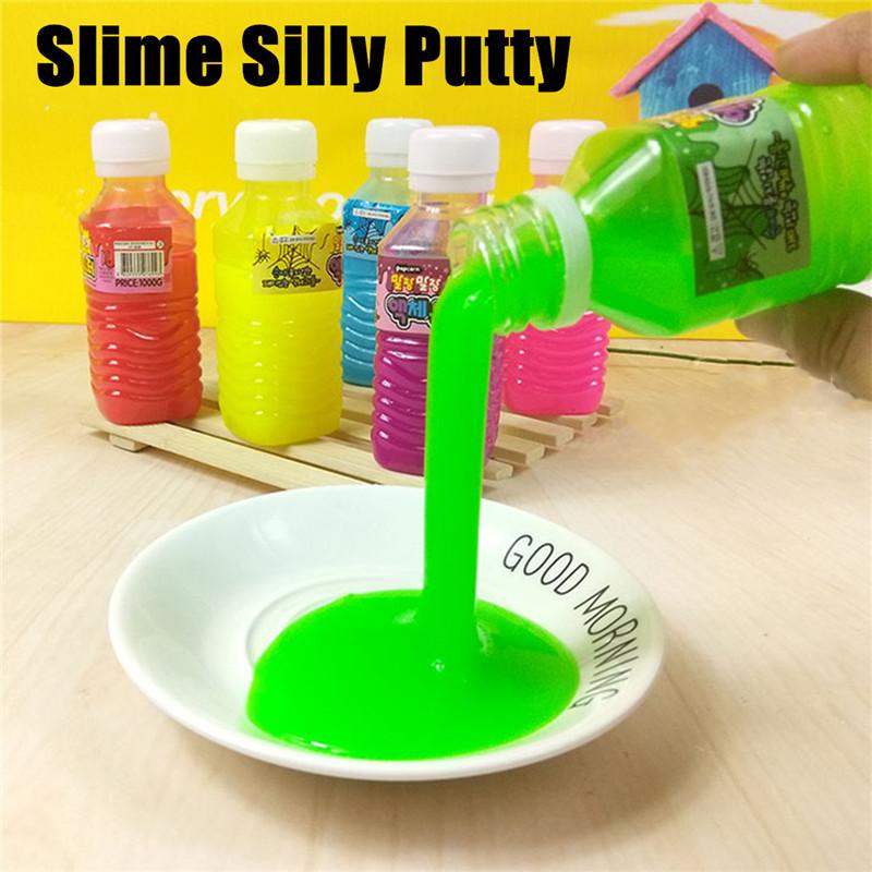 Tricky Plastic Bottle Container Sand Gelatin Fun Gift Novelty Toys For Kids Children Gift