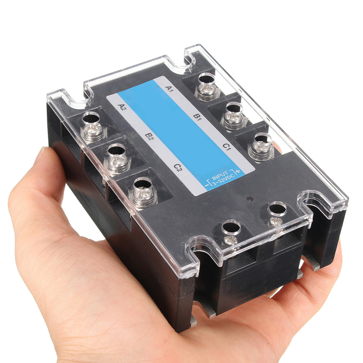 3 Phase Dc Ac Solid State Relay Ssr 20a 32vdc 480vac Sale For