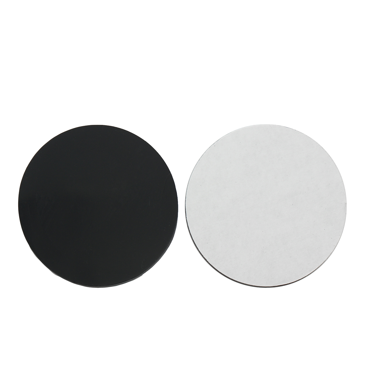 100Pcs 32mm Round Black Silicone Oval Model Bases Support for Wargames Table Games Warhammer 40K