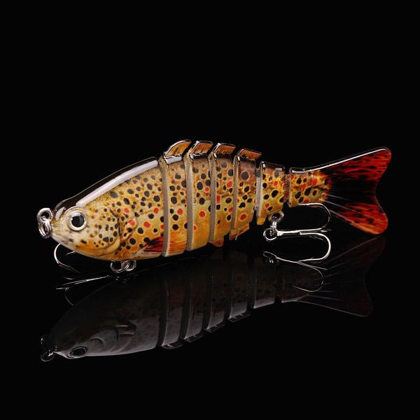 Maxcatch Carp Fishing Lures 10cm 13g 6 Segments Crankbaits Hard Lure