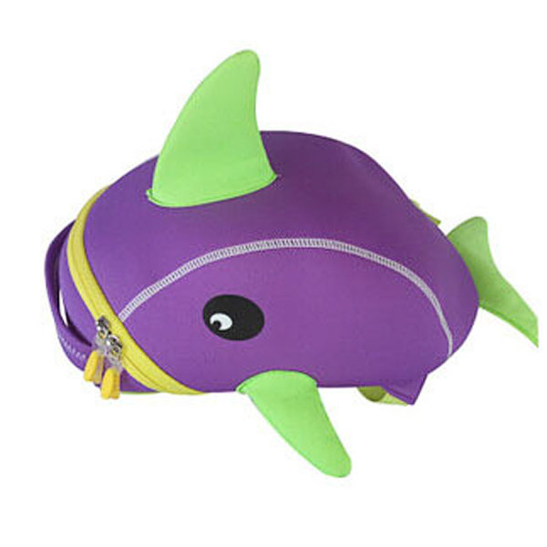 Kindergarten Kids Lovely Cartoon Fish Backpack Light Durable School Bag