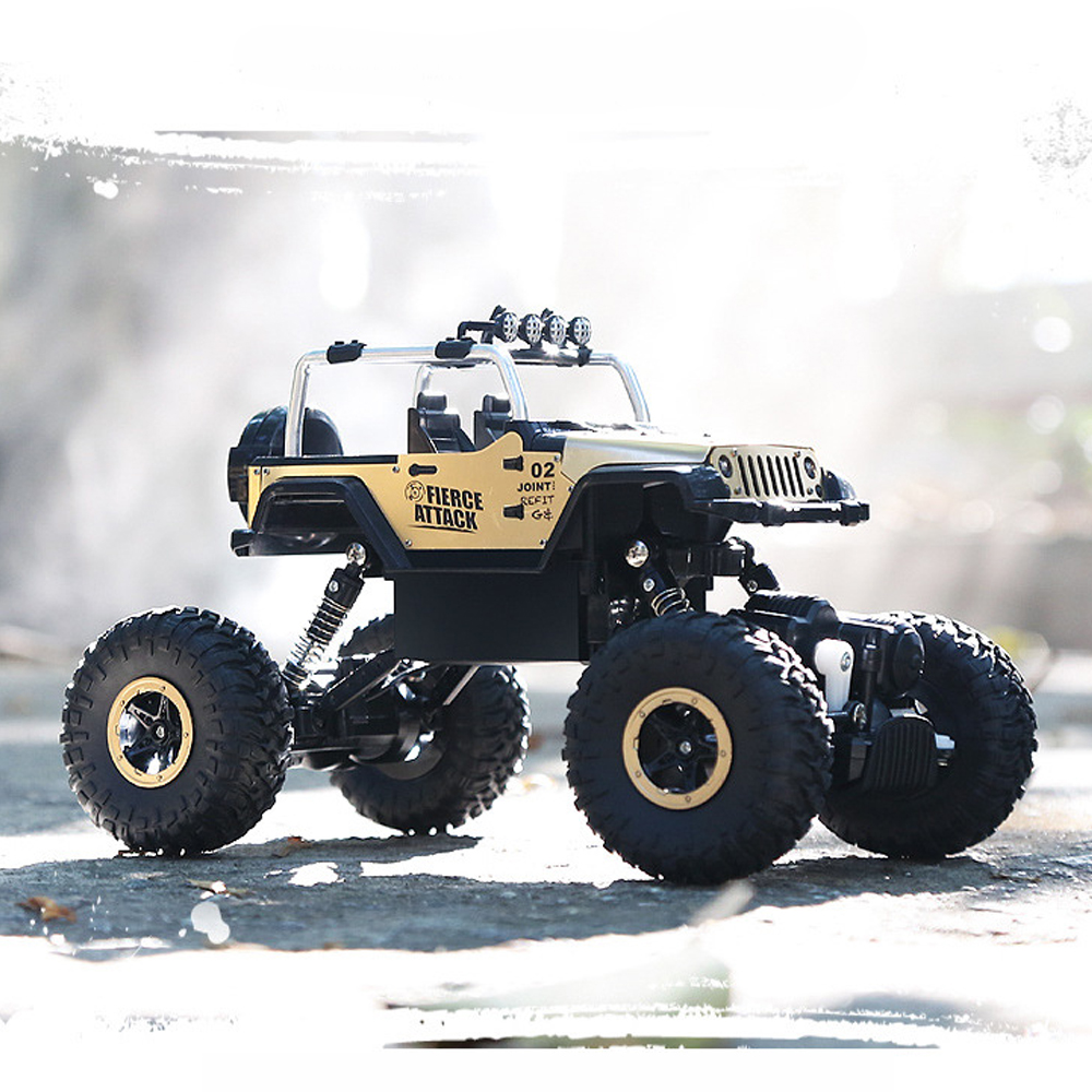 2.4G RC Car High Speed Electric 4CH Rock Crawlers Racing Car Off-Road Vehicles