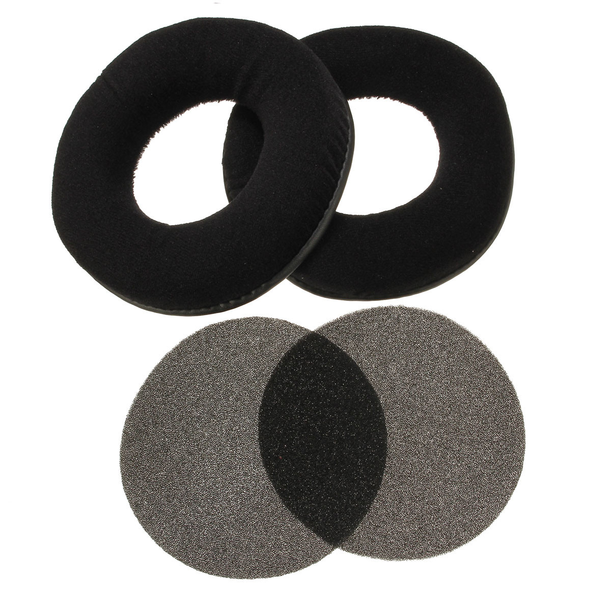 Velour Velvet Replacement Ear Pads Cushion For AKG K240 Studio K240MKII K270 K271 K271S K272