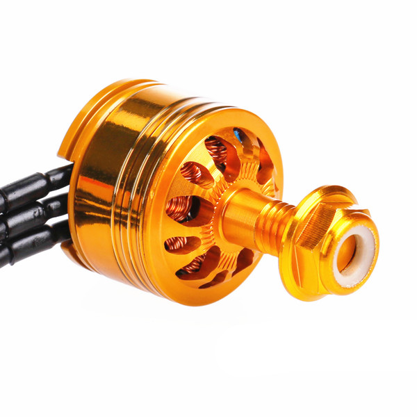 4 PCS Cobra CP 1407 4100KV 2-4S Champion Series Brushless Motor Golden for RC Drone FPV Racing