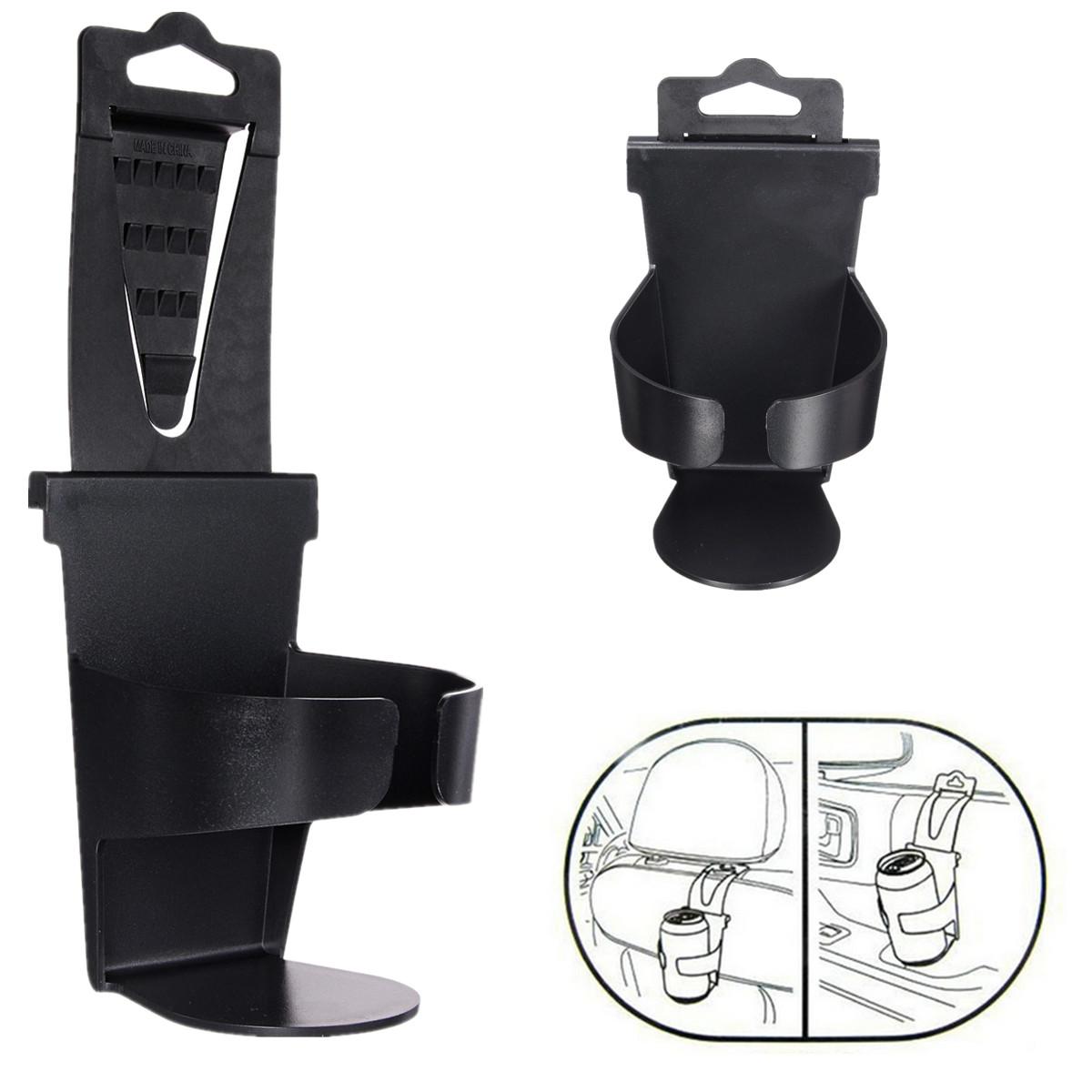 Universal Vehicle Car Truck Door Mount Drinks Bottle Cup Holder Stand Black