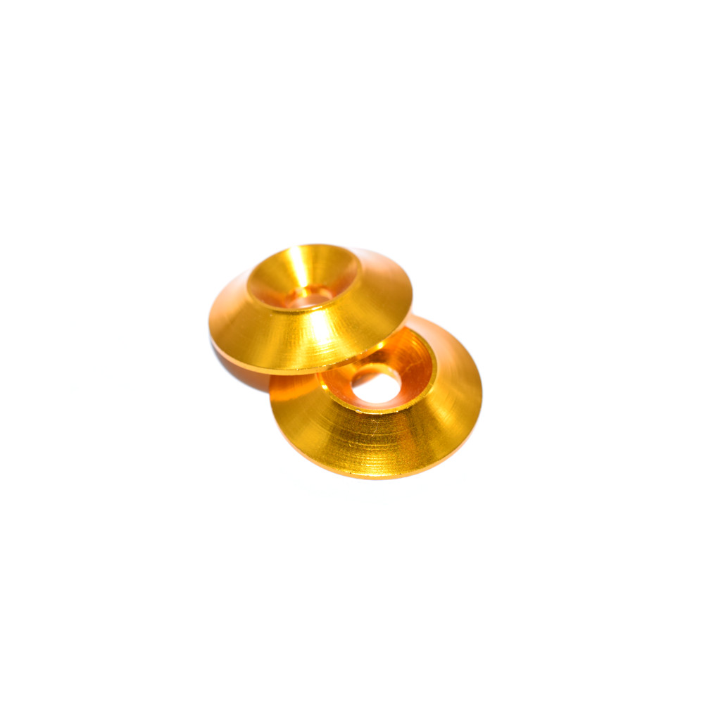 10 PCS AuroraRC M4 Countersunk Screw Conical Grommet Gasket Washer for RC FPV Racing Drone
