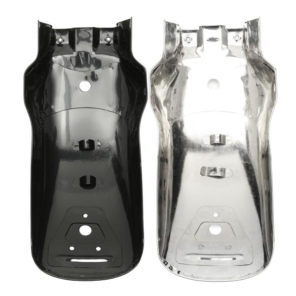 Motorcycle Rear Fender Mudguard Fit For Yamaha/Honda/Suzuki Chopper Cruiser Silver Black