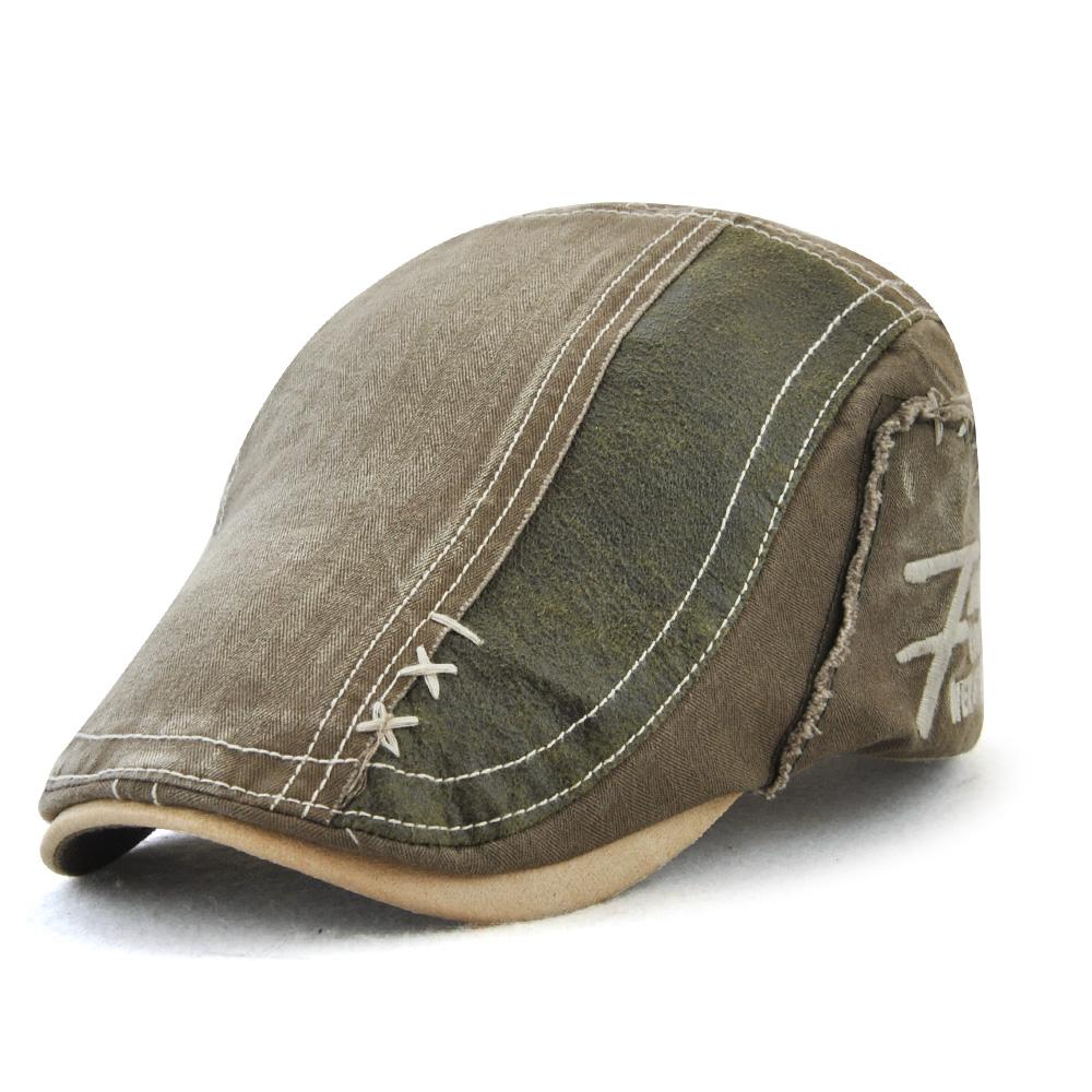 Men Summer Cotton Sport Hat Adjustable Outdoor Beret Hat