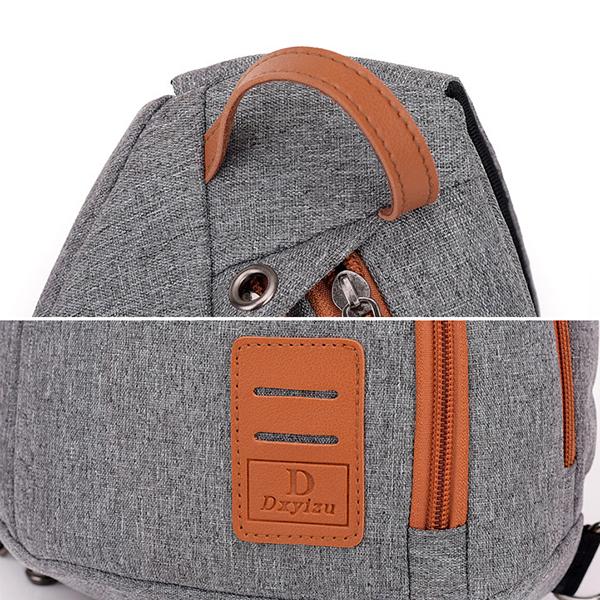 Men Leisure Light Weight Canvas Bag Crossbody Bag