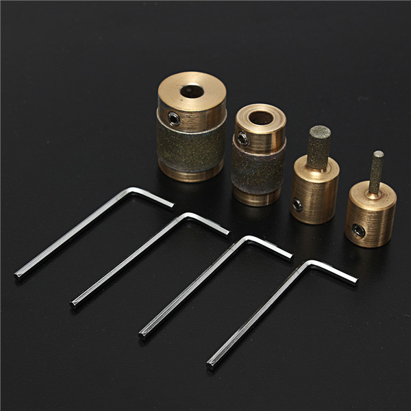 4pcs Grinding Bits Set MCB18 MCB14 MCB1 MCB34 Grinder Head for Grinding Machine