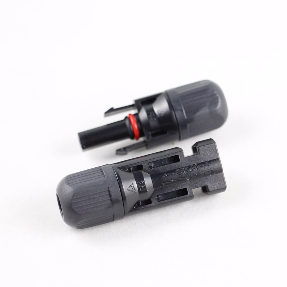 MC4X-B2 Male and Female MC4 Solar Panel Cable Connector Suitable Cable Cross Sections