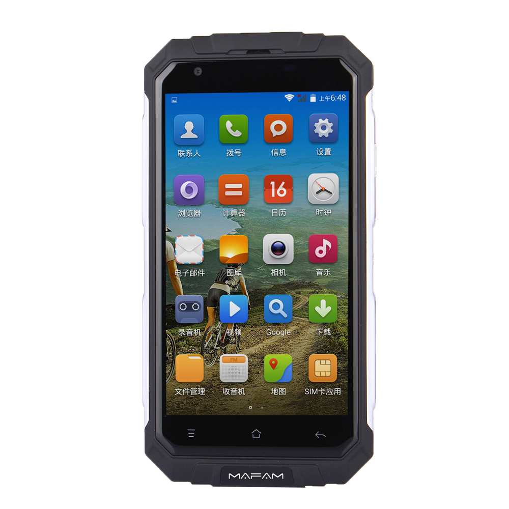 MAFAM V9+ 5.0-inch 3000mAh GPS 8GB ROM Quad Core Dual Sim Outdooors Rugged Smartphone
