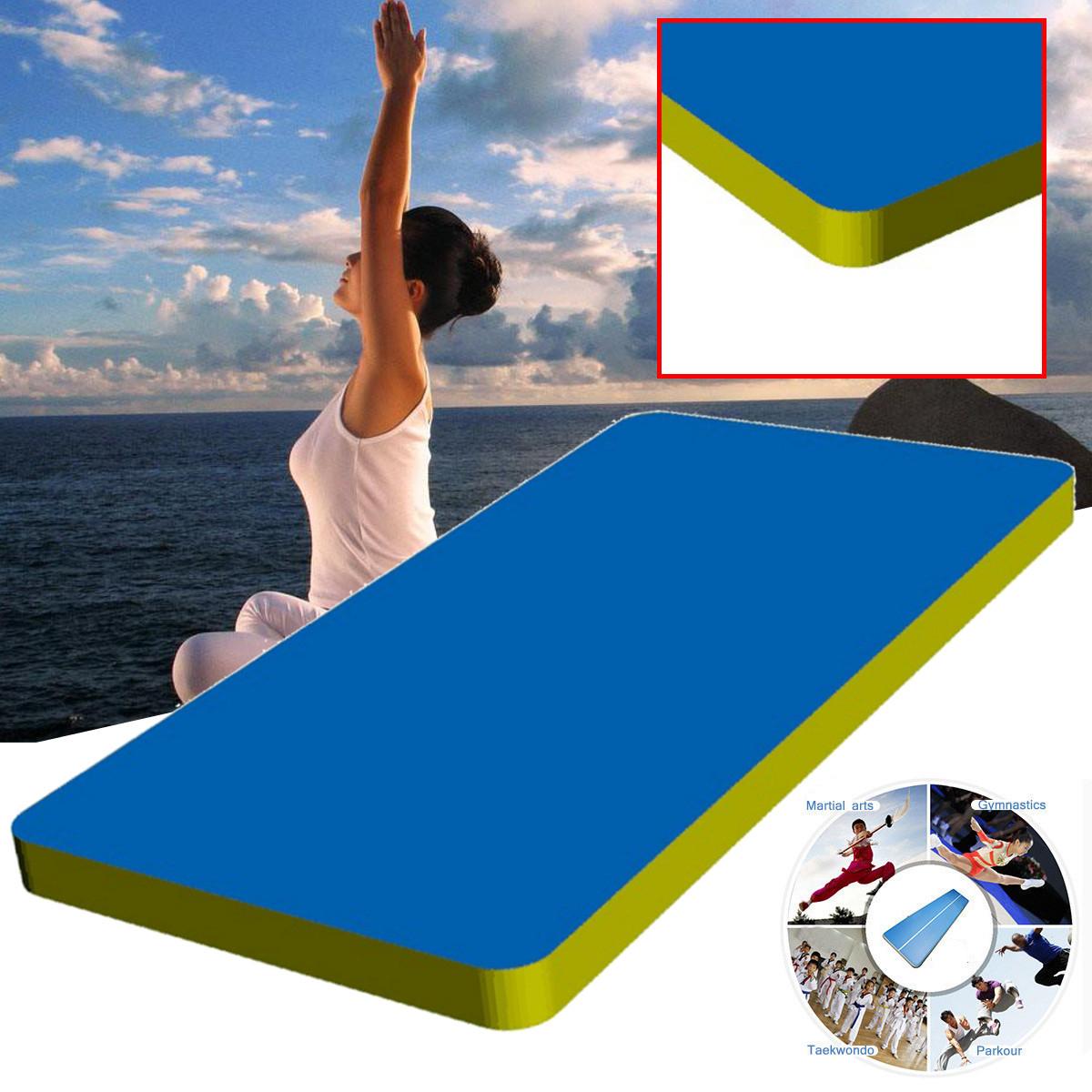 236X35.4X3.9 Inch Air Track Inflatable Balance Beam Training Mat Tumbling Gymnastics Protection