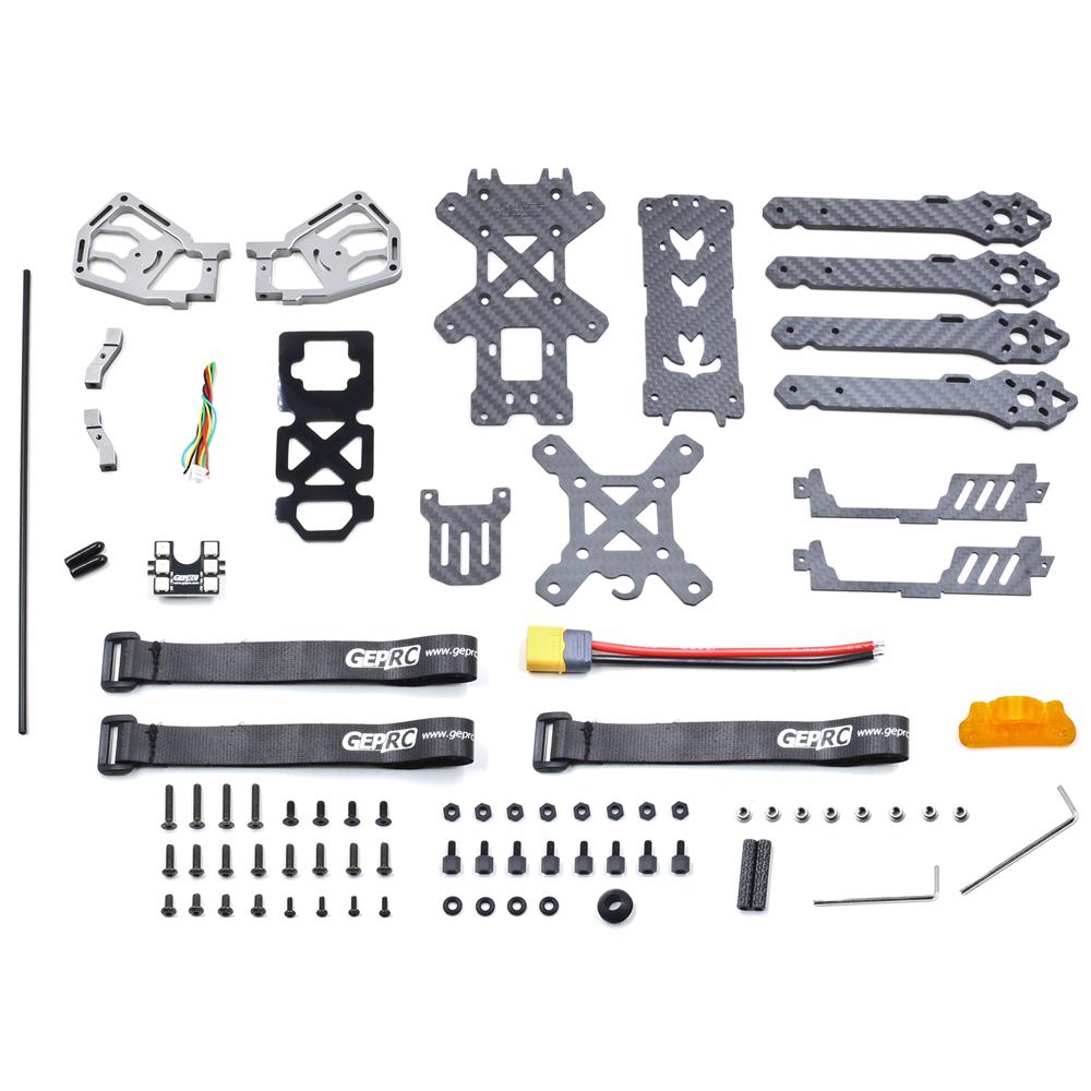 GEPRC GEP-KHX4 KHX5 KHX6 Elegant 200mm 230mm 260mm Wheelbase Carbon Fiber FPV Racing Frame Kit