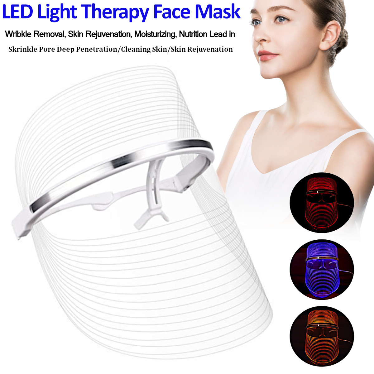 Pro Photon 3 LED Facial Mask Tightening Therapy Machine