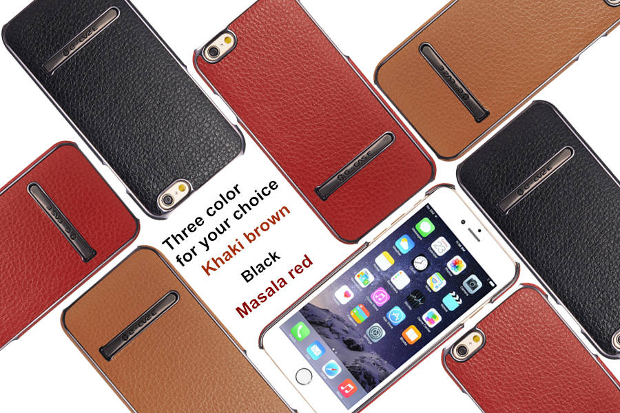 Kickstand Synthetic Leather For iPhone 6 6S 6Plus & 6S Plus