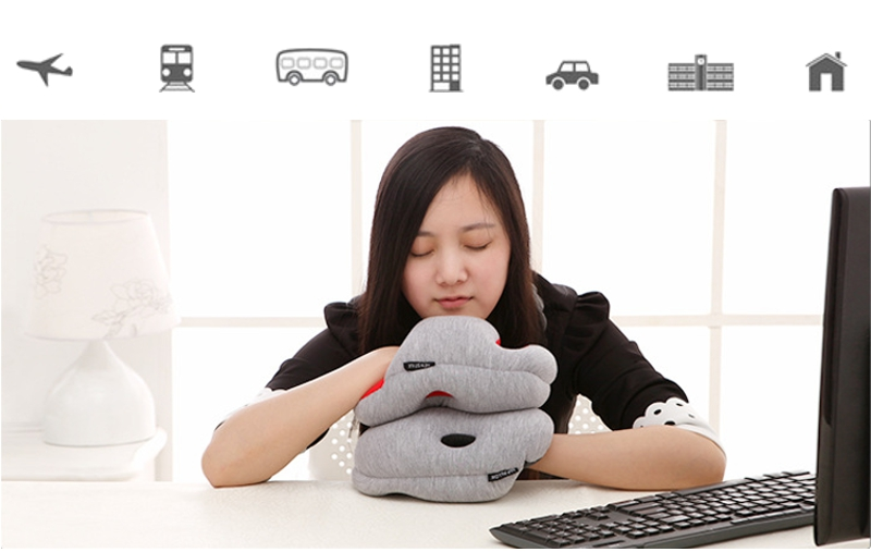 Mini Home Office Nap Pillow Portable Siesta Hand Pillow Glove Sleeping Cushion Pad