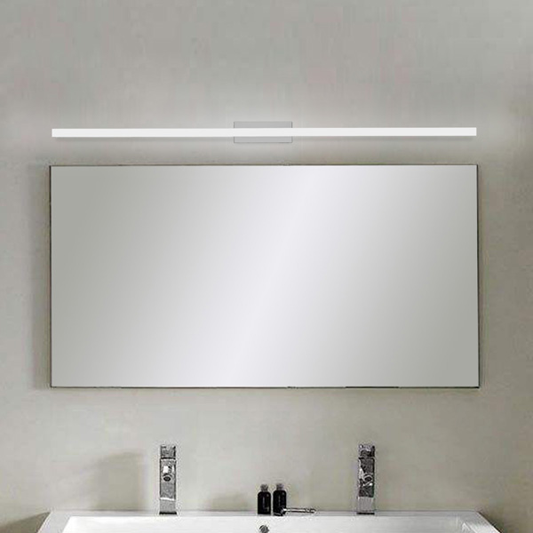 120cm 20W 96 LED Mirror Front Lamp Morden Wall Lamp Stainless Steel 1600LM 85-265V