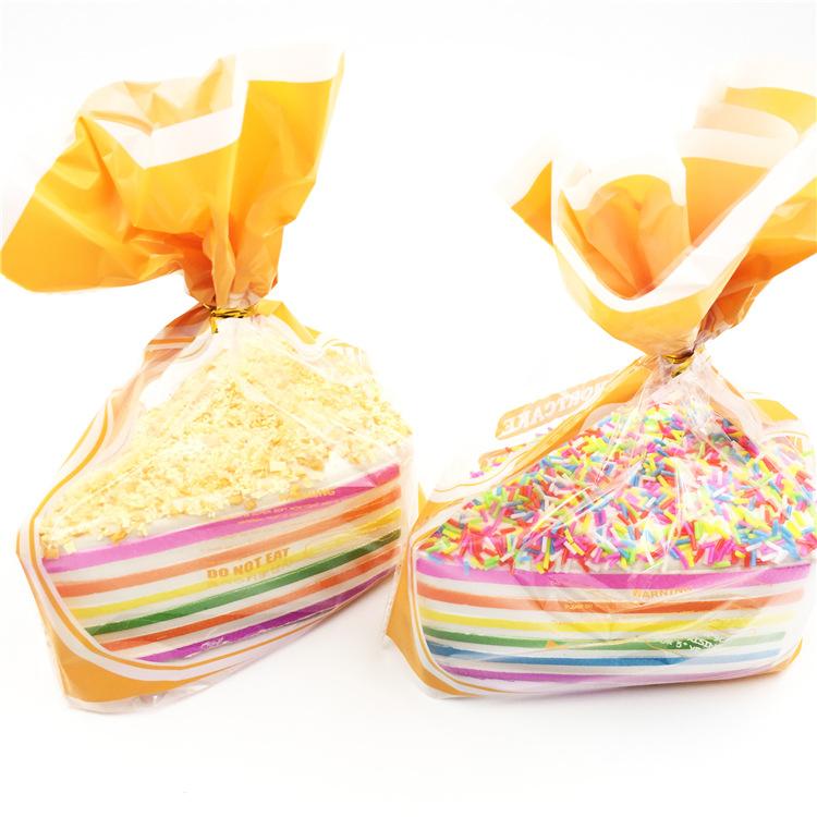 SquishyFun Jumbo Squishy Rainbow Shortcake Slow Rising Gift Decor Toy