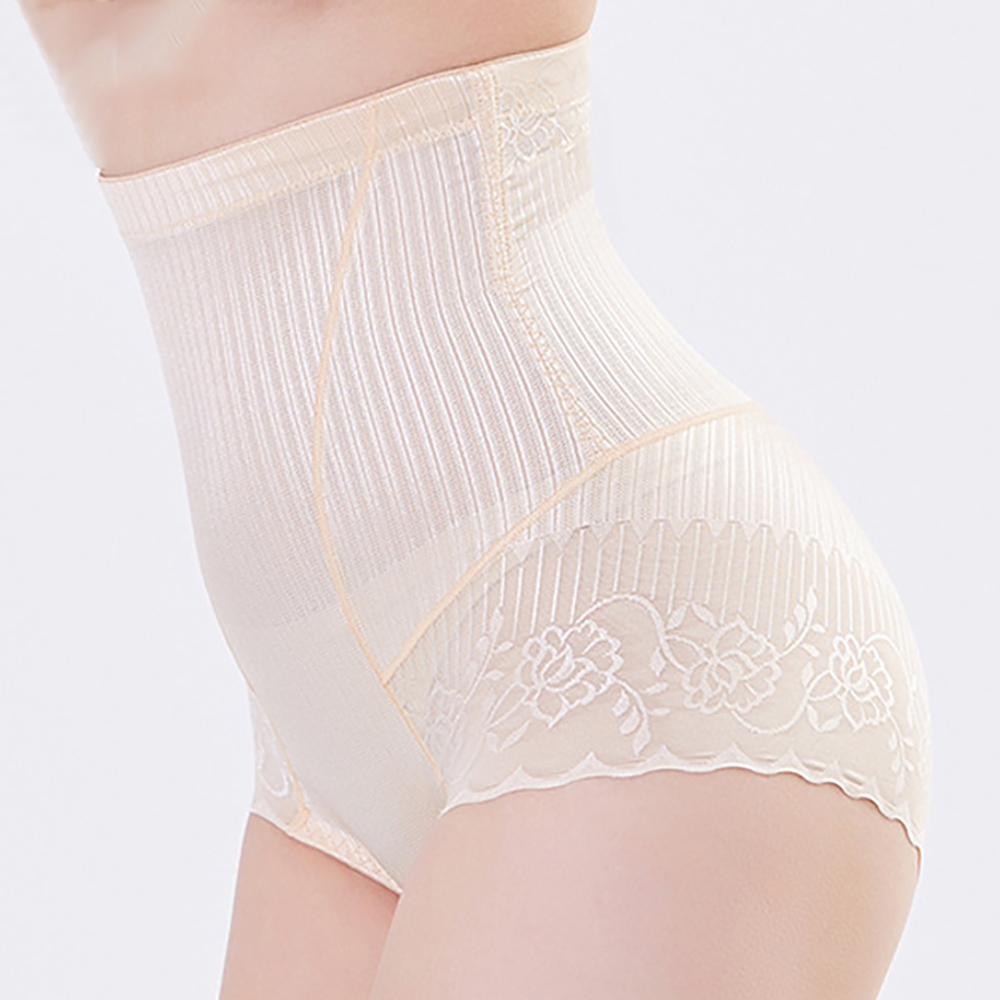Banggood Lace Edge Hip Molding Slimming Tummy Contol High Waist Shapewear Panties