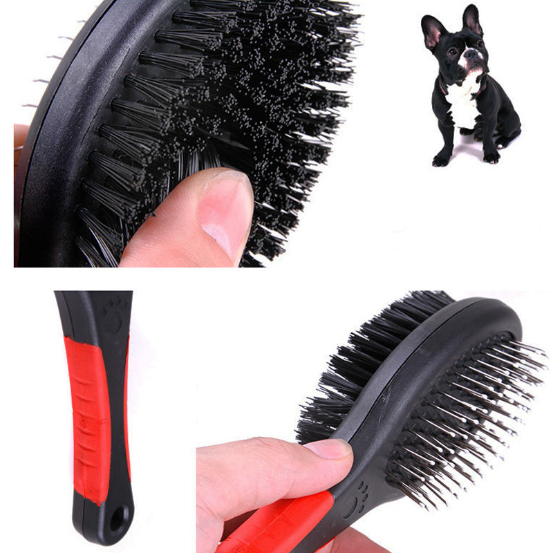 Double-sided pet cat comb Brush Comb for Dogs Cats Hair Removal Soft Brush Grooming Products Care Tool