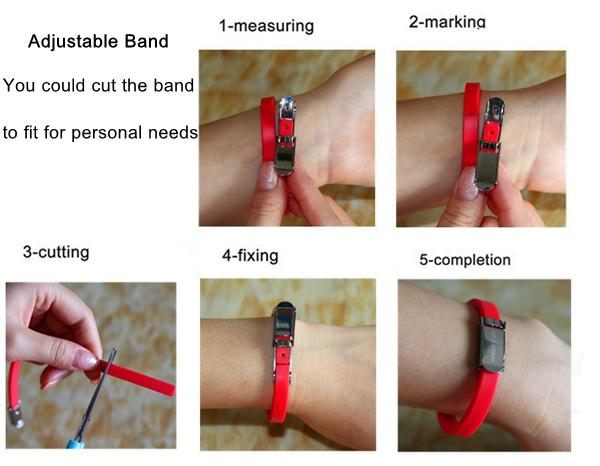 Anion Adjustable Radiation Protection Energy Bracelet Prevent Fatigue Anti Static Relieve Wristband
