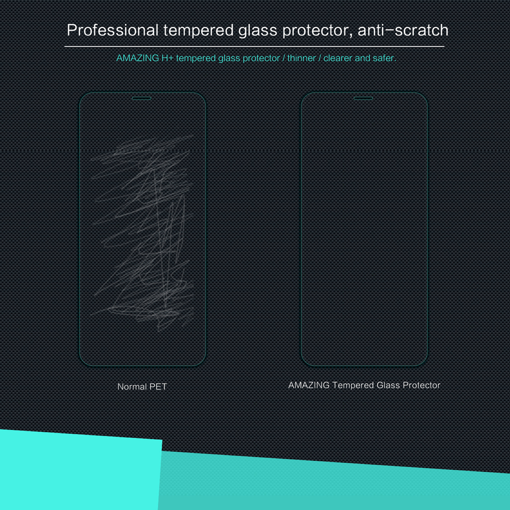 Nillkin Anti-burst Tempered Glass Screen Protector For iPhone XR Clear HD Scratch Resistant Film
