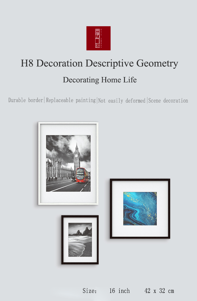 Geometry Descriptive Geometry Decorative Photo Frame Home Decoration From Xiaomi Youpin