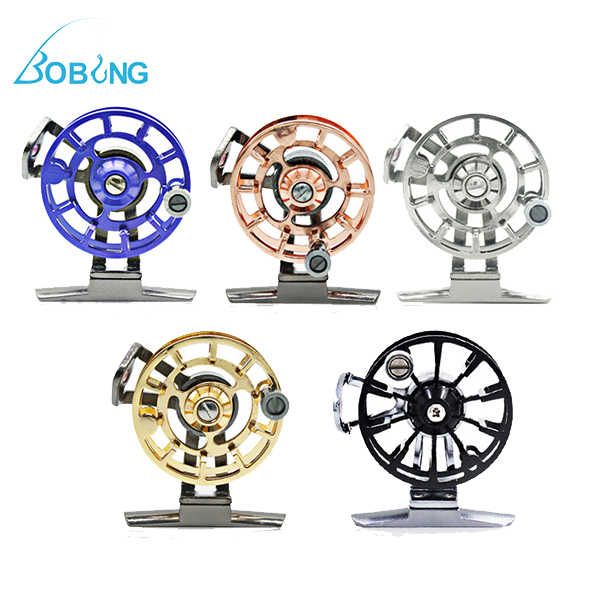 Bobing Raft Fly Fishing Wheel All Aluminum Front Wheel With Unloading Fly Fishing Reel
