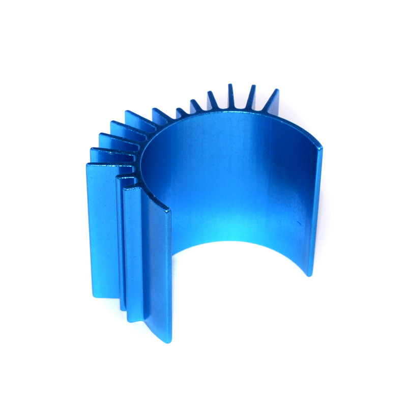 TTO1 Blue Aluminium Engine Radiator Heat Sink For 540/550 Motor Rc Car Parts