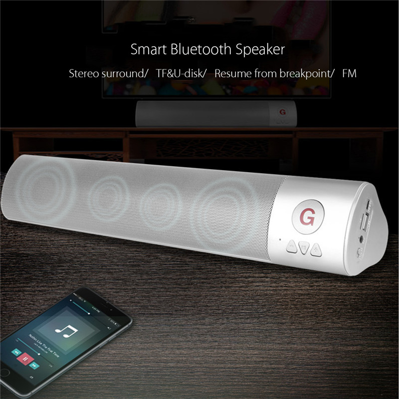10W Portable bluetooth HIFI Speaker Wireless FM Stereo Loud Bass Theater TF AUX
