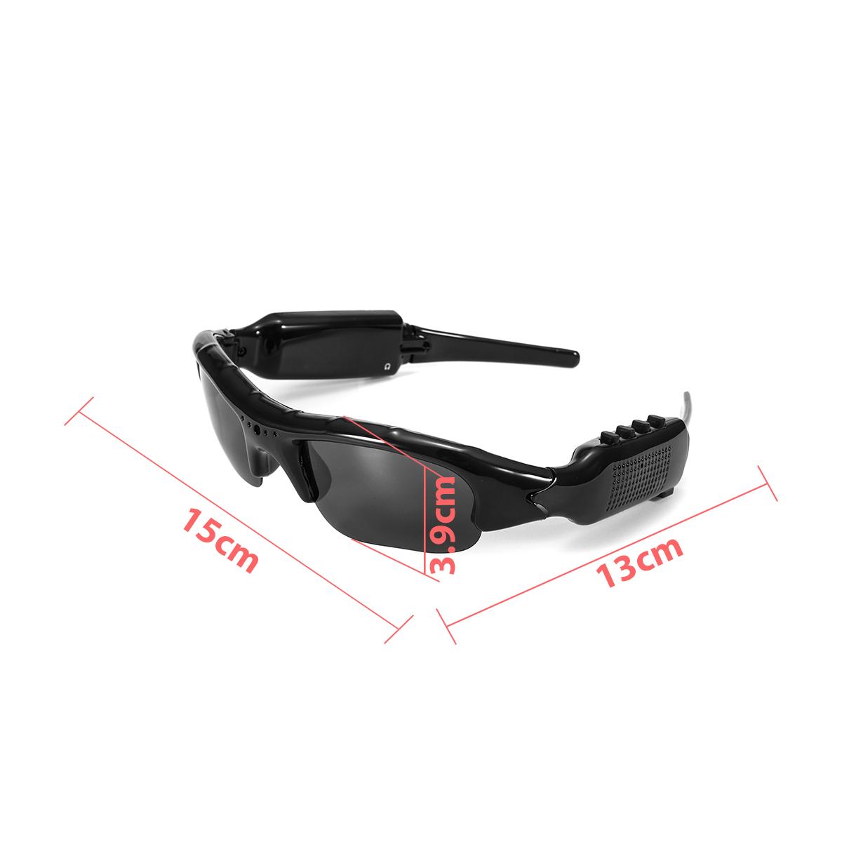 1080P FHD Digital Video Recorder Camera Sunglasses bluetooth Polarized Glasses