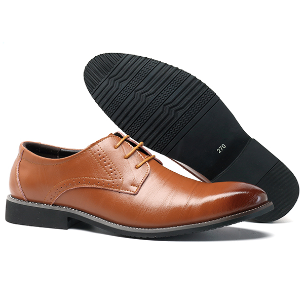 Men Comfy Brogue Style Business Shoes