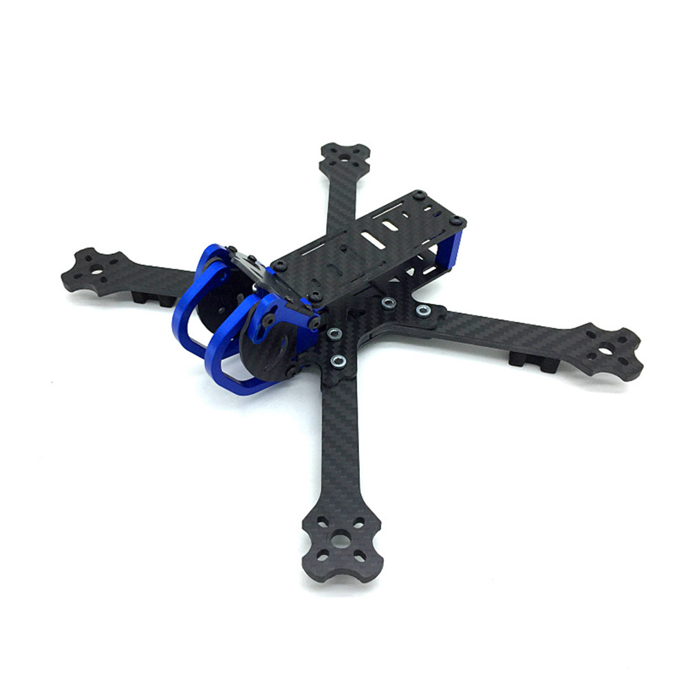 Cobra X5 X5D 5 Inch 227mm 4mm Arm 3K Carbon Fiber Racing Frame Kit w/ Camera Mount for Gopro Session - Photo: 4