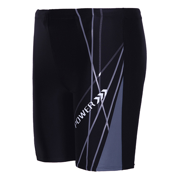 Mens Professional Quick Drying Adjustable Drawstring Hotsprings Surf Swimming Trunks