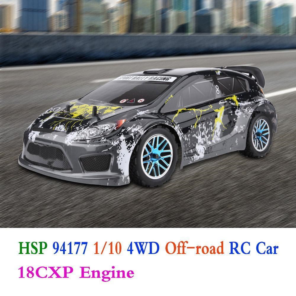 HSP 94177 1/10 2.4G 4WD 18cxp Engine Rc Car Nitro Powered Sport Rally Racing Off-road Truck