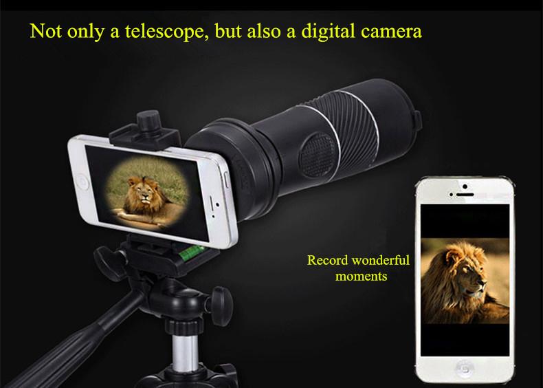 Universal 8x40 wandern kompass kameraobjektiv summen teleskop