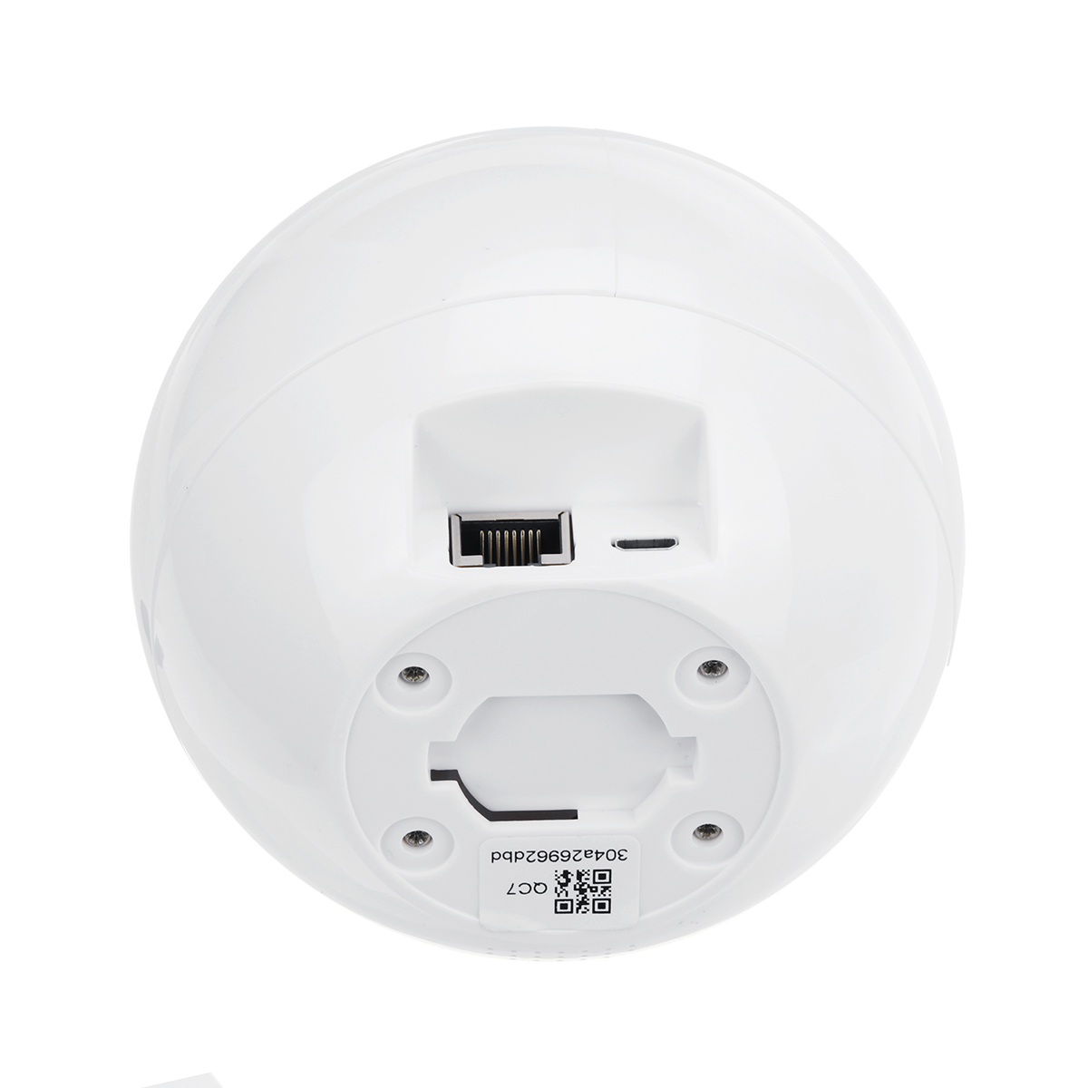 Doodle APP 1080P 2mp wireless IP camera space ball design cradle night vision function 355° rotation 90° rotation