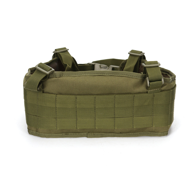 Tactical Molle Belt Combat Girdle Wear Proof H-shaped Adjustable Soft Padded Men Army Military Gear
