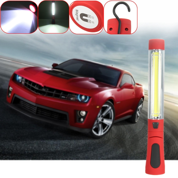 10W Magnetic LED Car Inspection Work Flashlight Lamp Hand Torch Camping Light