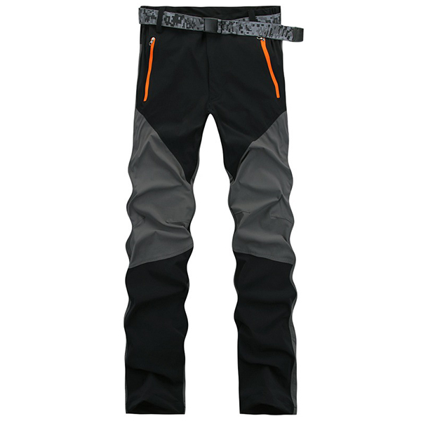 Mens Outdoor Quick Drying Climbing Pants