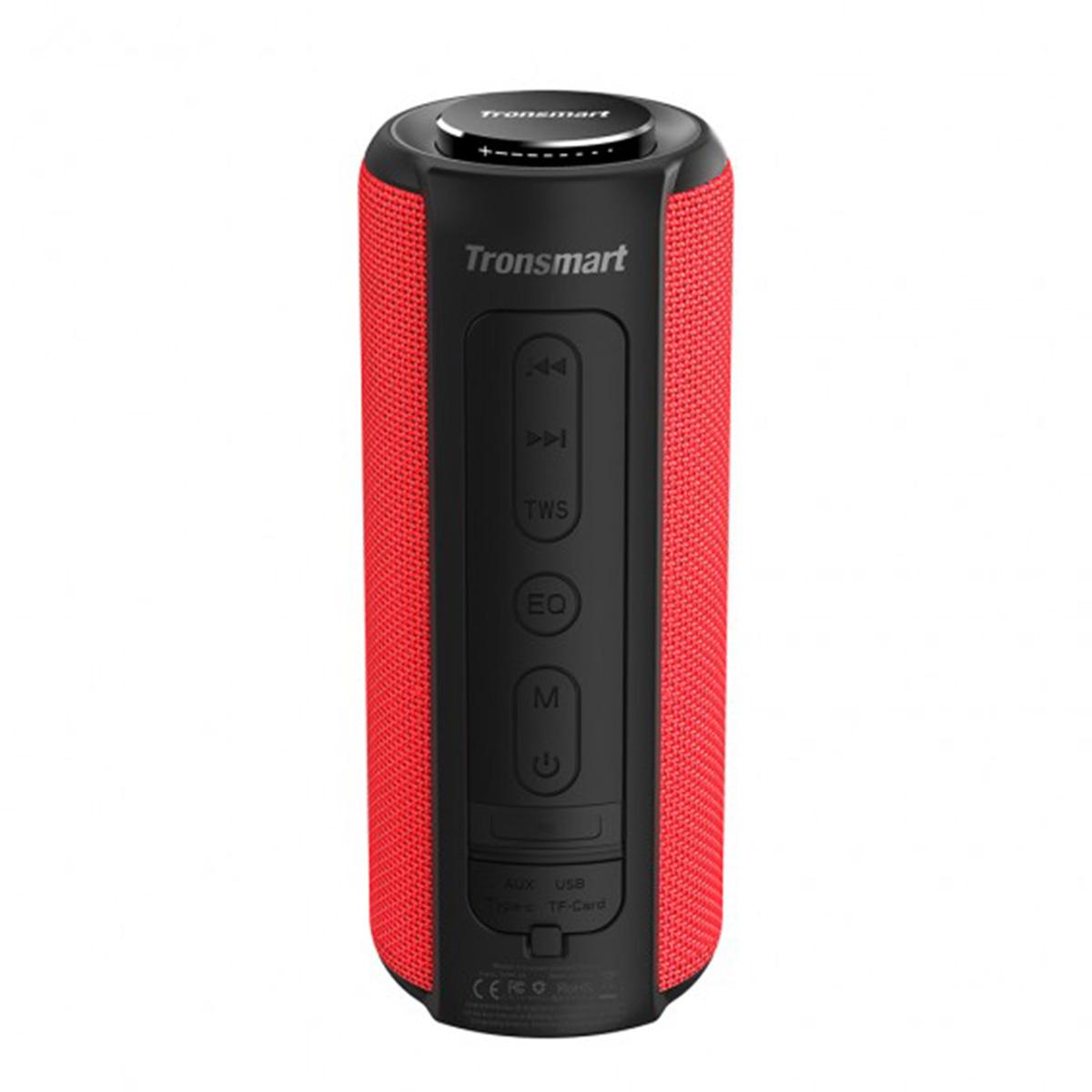 Tronsmart Element T6 Plus Portable 40W bluetooth 5.0 Speaker Tri-Bass IPX6 Waterproof TWS Stereo SoundPulse Loudspeaker