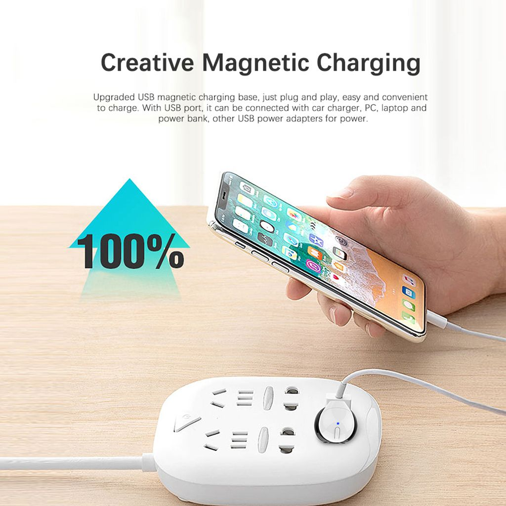 Bakeey X20L Mini Wireless bluetooth Earphone Portable Single Earbuds with USB Charger with Mic