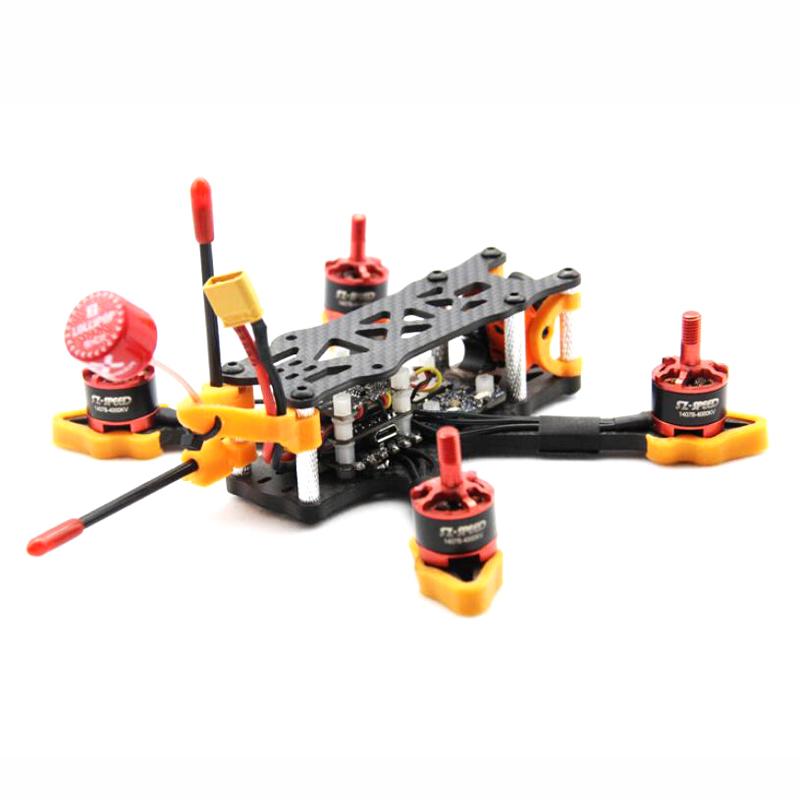ZJWRC 140mm Wheelbase 3 Inch 4mm Arm Carbon Fiber FPV Racing Frame Kit for RC Drone - Photo: 6